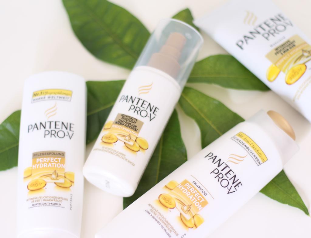 Haircare mit der Perfect Hydration Pflegeserie von Pantene Pro-V