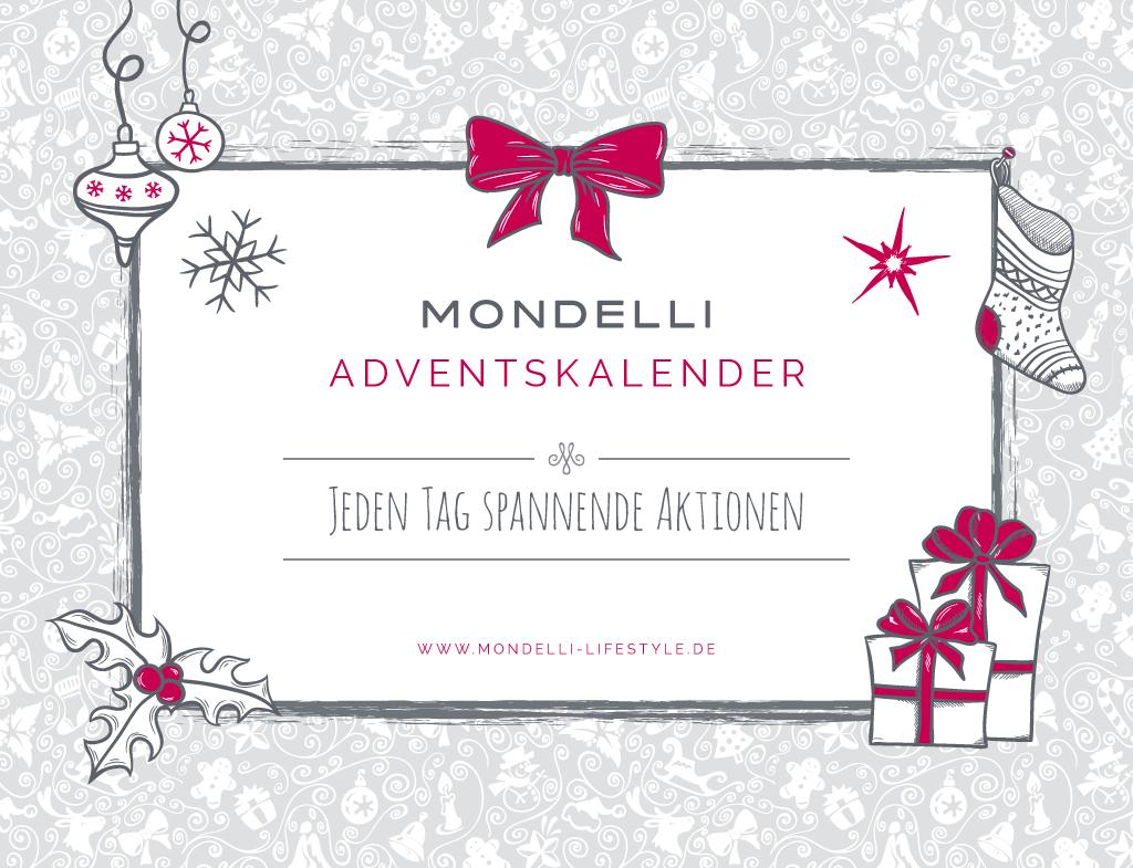 Mein Weihnachts-Shopping Tipp mit dem Mondelli Adventskalender