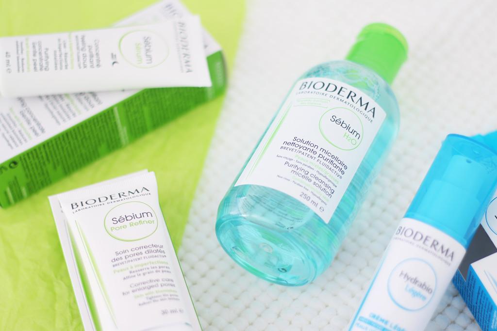 Bioderma Sebium und Hydrabio Hautpflege