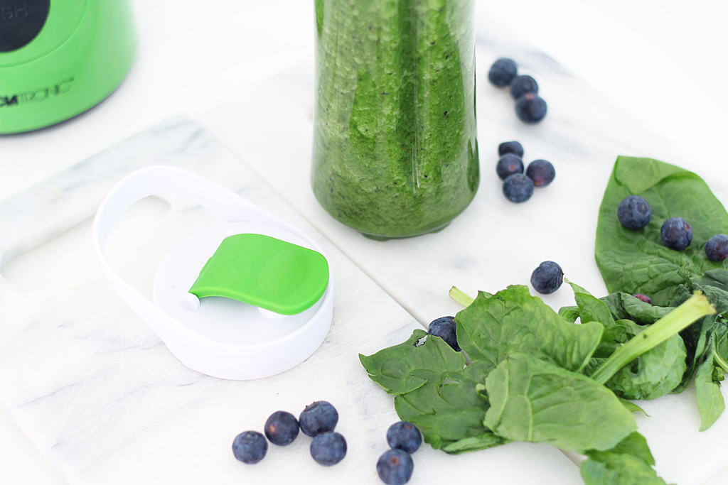 Green Smoothie Spinat