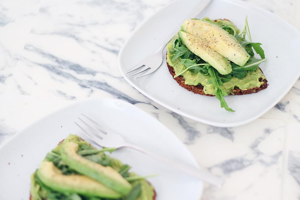 Guacamole Avocado-Brot