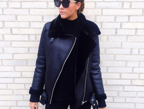 Zara Shearling Jacket