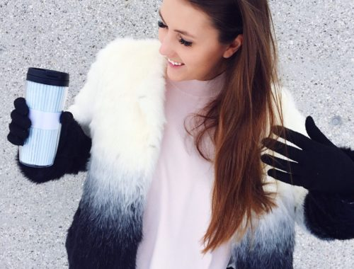 Fluffy Winter Outfit