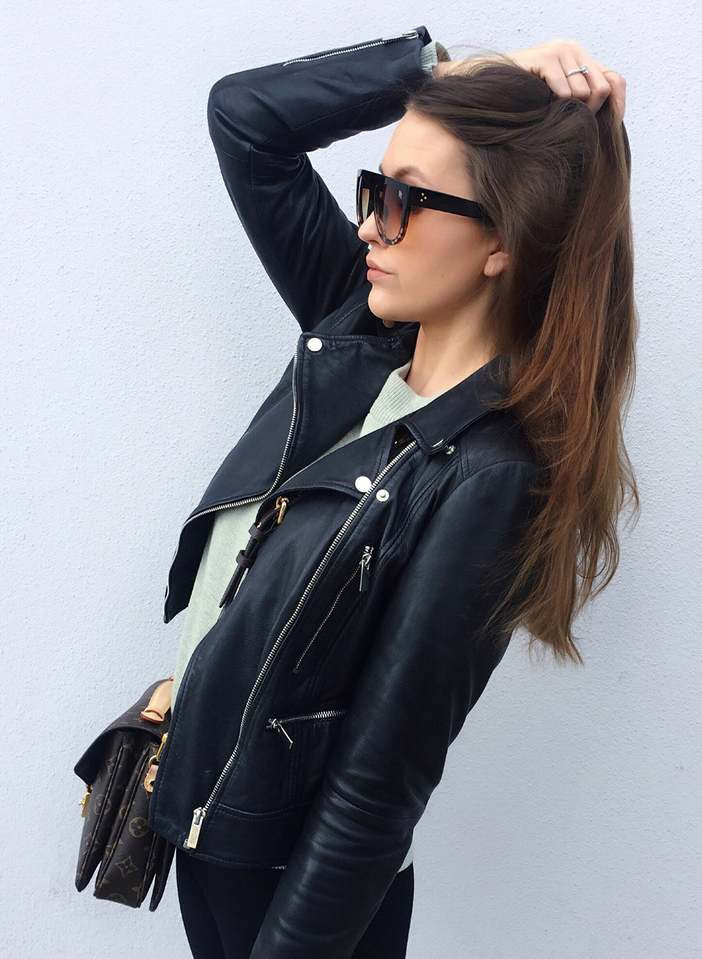 Spring Look Leather Jacket