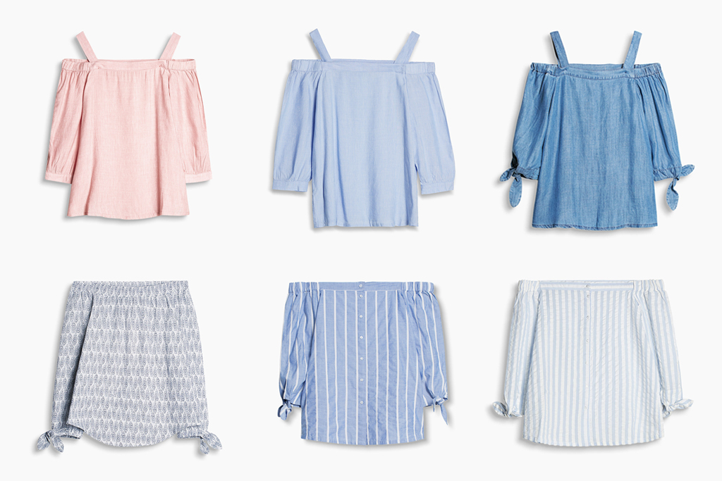 Wishlist: Off Shoulder Bluse