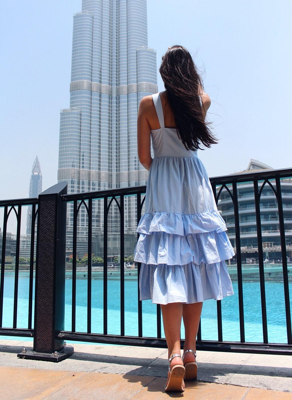 Burj Khalifa Dubai Cinderella Kleid