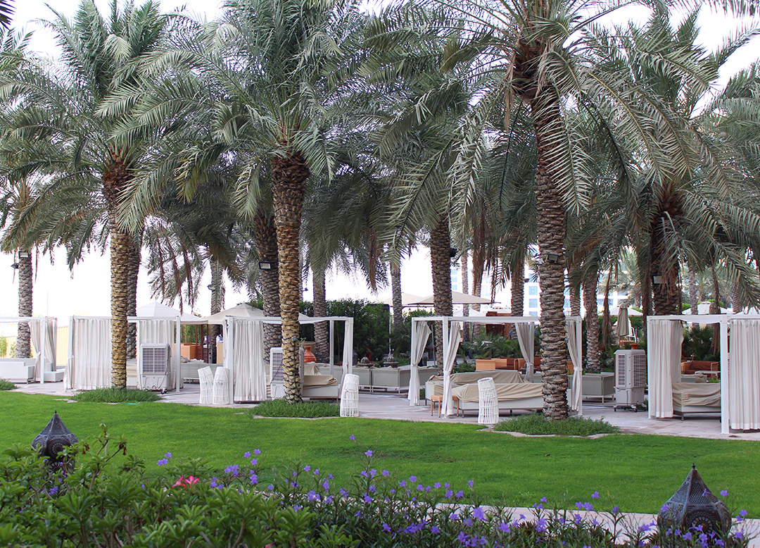 Fairmont The Palm Hotel Dubai Review Shisha Lounge