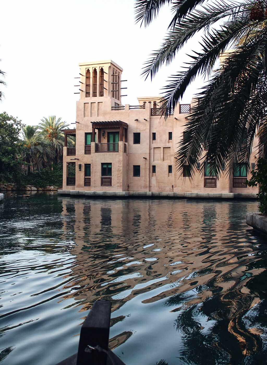 Madinat Jumeirah Dubai Gondel Wasser Boot