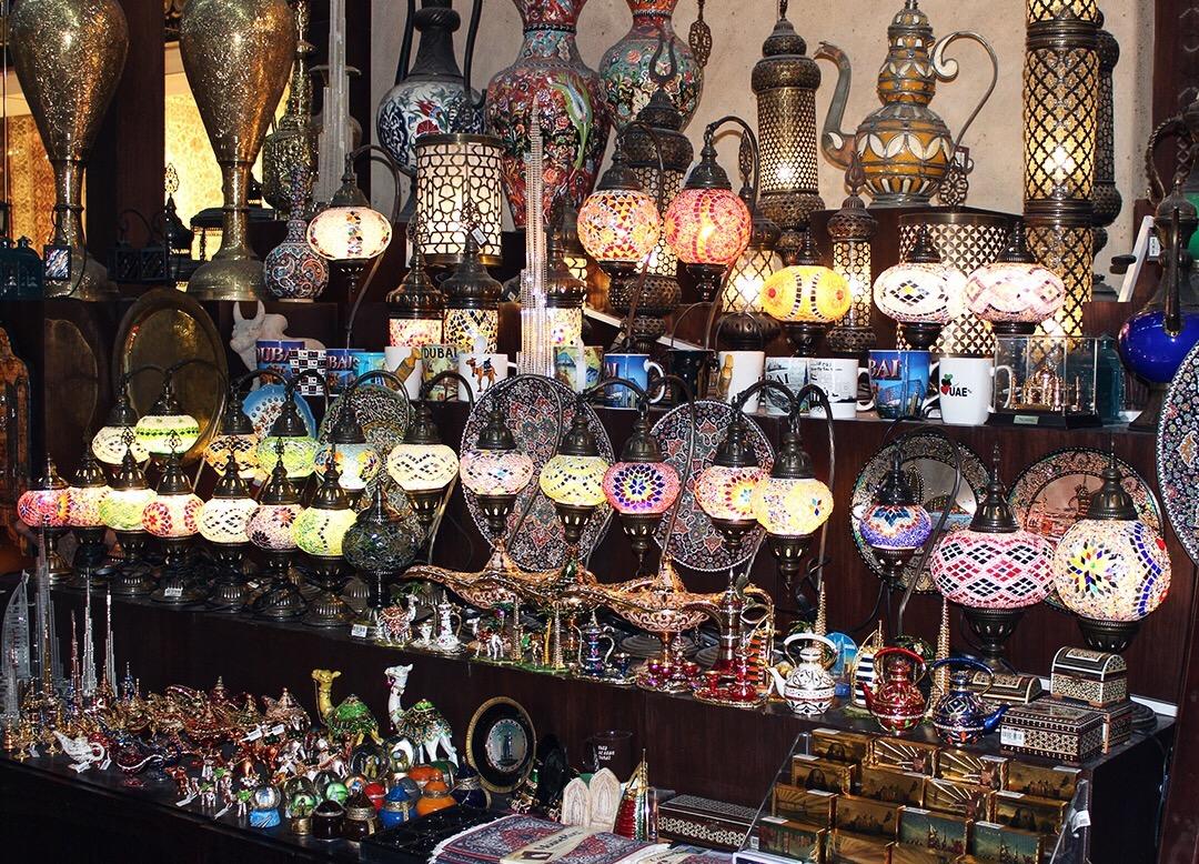 Madinat Jumeirah Souk Markt Dubai