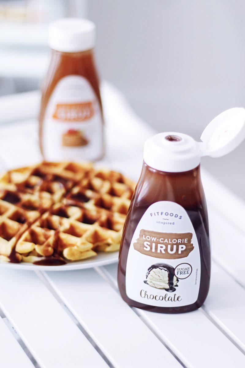 Waffel Frühstück mit Low Calorie FITFOODS   Saskias Blog