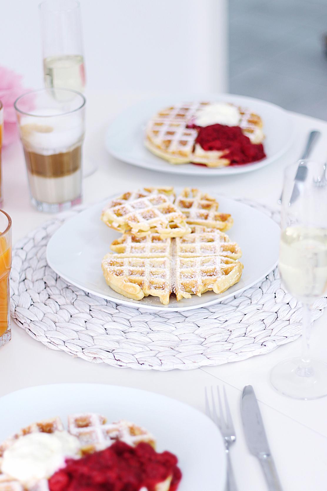 Waffel Frühstück