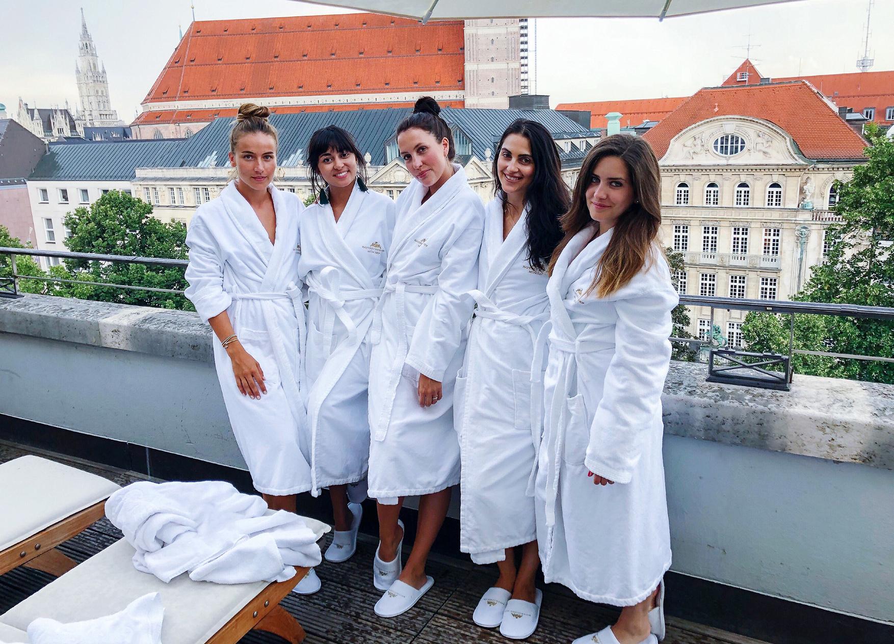 Hotel Bayerischer Hof Wellness Junggesellinnenabschied
