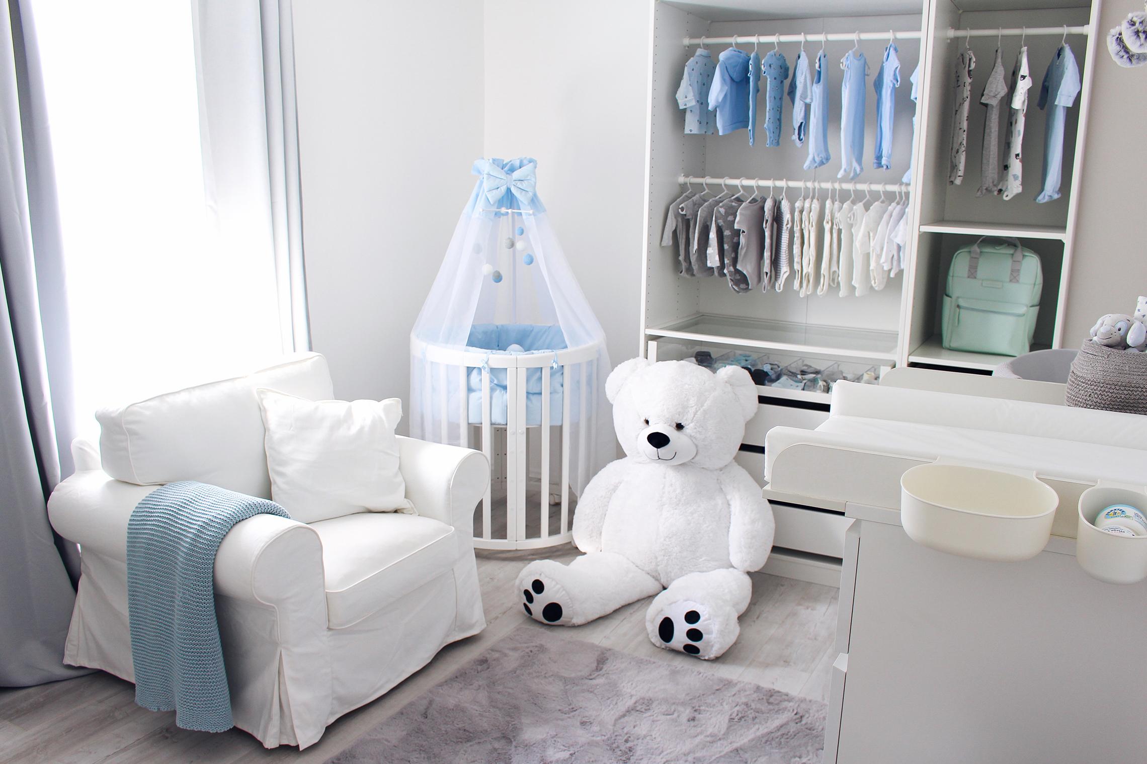 Babyzimmer Blau Ideen Junge