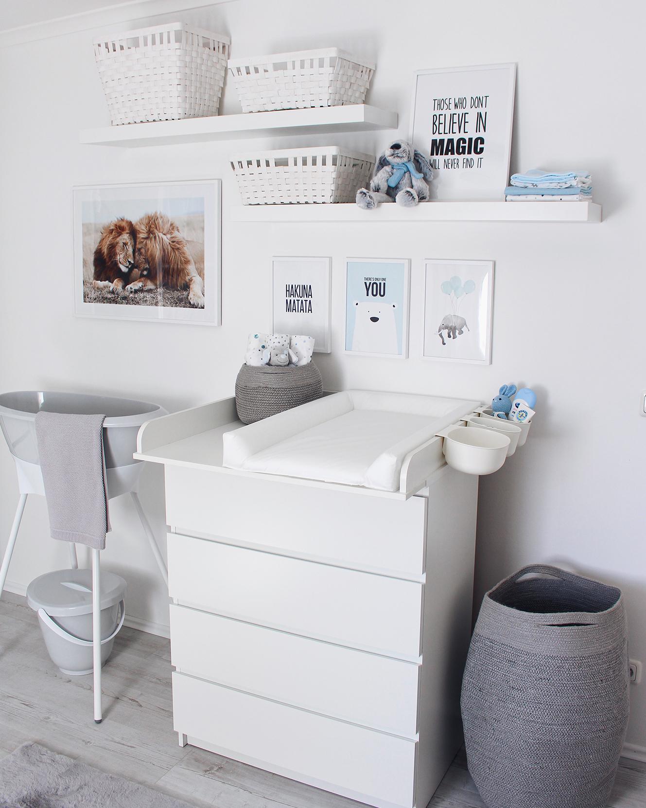 Wickeltisch Babyzimmer