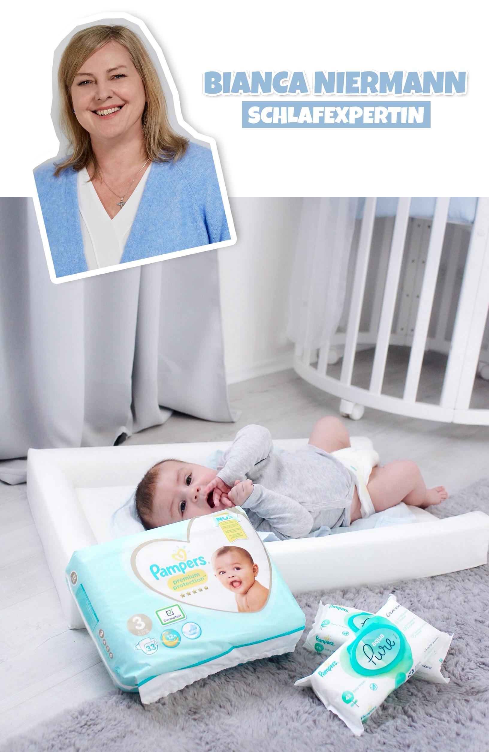Pampers Expertenservice Babyschlaf Bianca Niermann Schlafexpertin